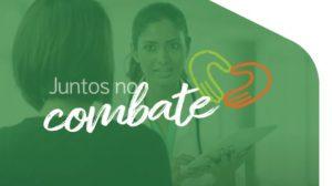 """SINDHOSFIL/SP apoia campanha """"Juntos no Combate"""""""